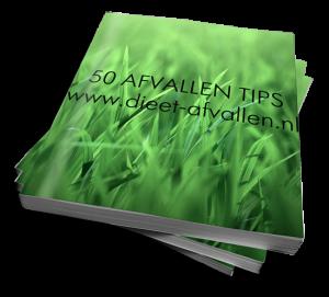 Meld je aan voor onze nieuwsbrief en ontvang het gratis E-Boek met 50 Afvallen Tips.
