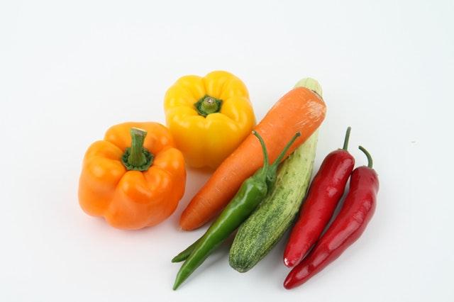 eet meer verschillende groentes