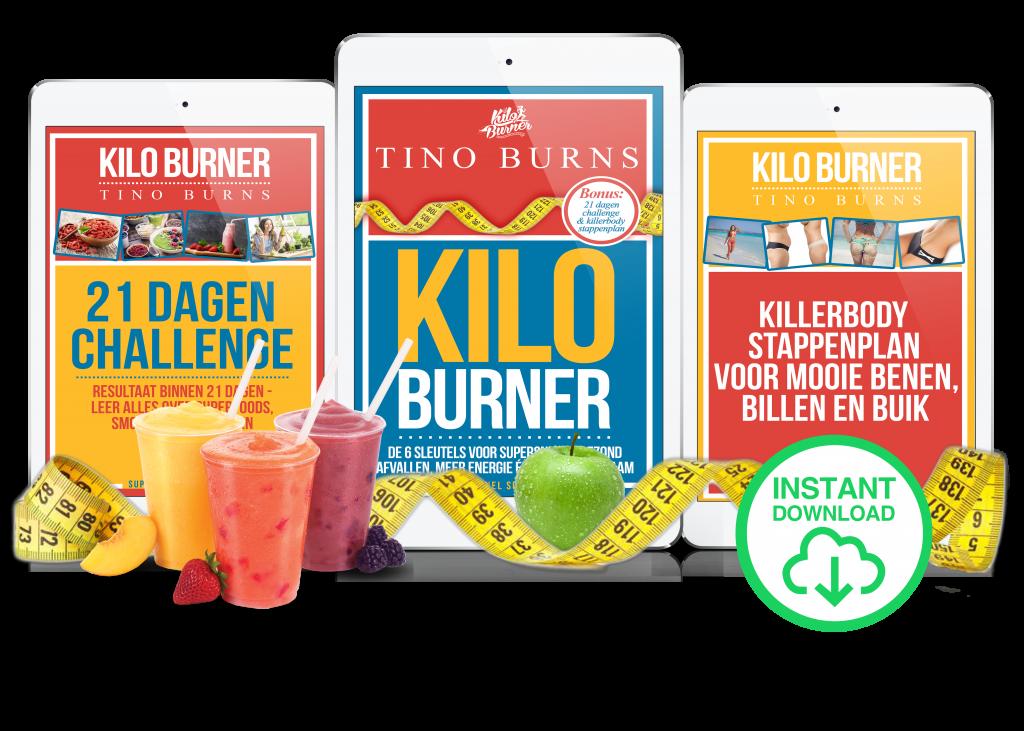 Kilo Burner Tino Burns 21 dagen challenge